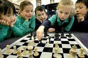 Шахматная школа в Караганде