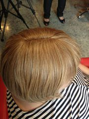 Наращивание  для редких волос на теменную  зону