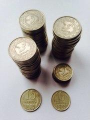 Монеты Казахстан 1993 г.в. Цена за одну 3500-4000