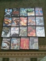 Продам игры для PlayStation2