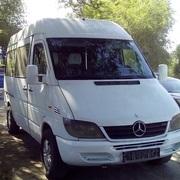 Аренда микроавтобуса с водителем Mercedes-Benz