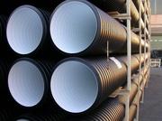 Гофрированные трубы для систем канализации,  дренажа,  водоотведения