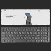 Клавиатура для ноутбука Lenovo IdeaPad G580/ V580/ Z580,  RU,  черная