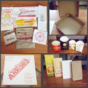 Изготавливает упаковку из картона, жиростойкого картона, бумажные пакеты