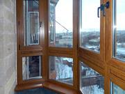 Остекление балкона. Балкон пластиковый в Караганде