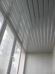 Отделка потолка балконов и лоджий. Низкие цены