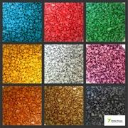 Изготовление цветного щебня на заказ